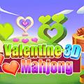 Valentine 3D Mahjong